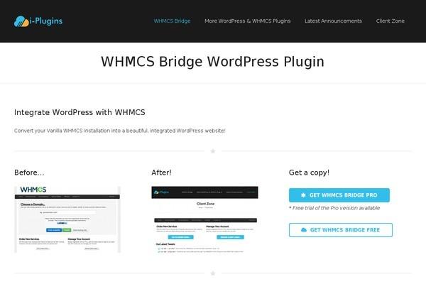 WHMCS-Bridge – WordPress ve WHMCS Bağlama Eklentisi Nedir?