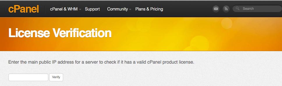 cPanel Lisans Fiyatları
