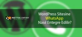 WordPress Sitesine WhatsApp Nasıl Entegre Edilir?