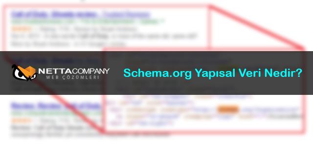 Schema.org Yapısal Veri Nedir?