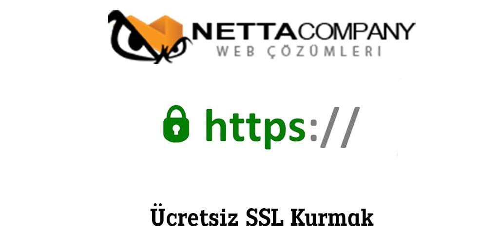 Bedava SSL Kurmak istiyorum ?