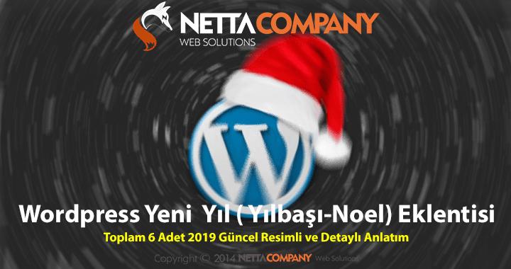 WordPress Yeni Yıl (Yılbaşı) 2019 Eklentileri